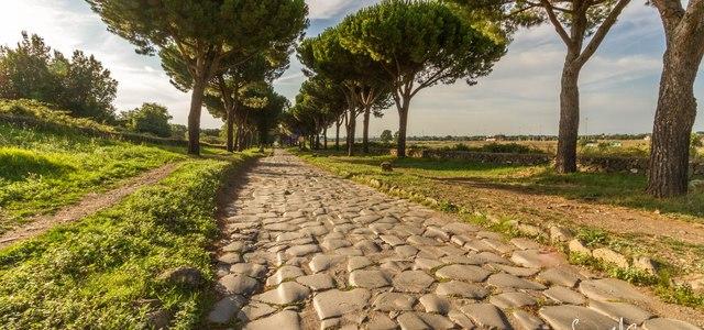 The First Major Roman Roads