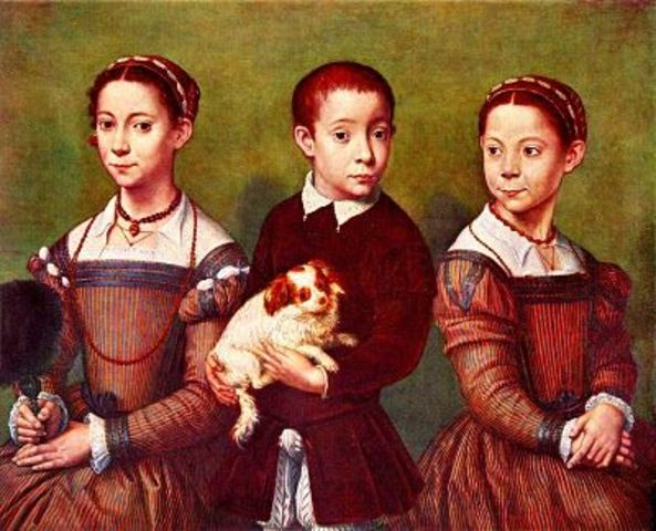 William's Children are Born