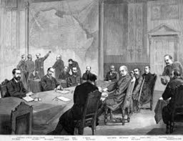 Conferencia de berlin contra la esclavitud en Africa