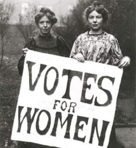 Mujeres pueden votar