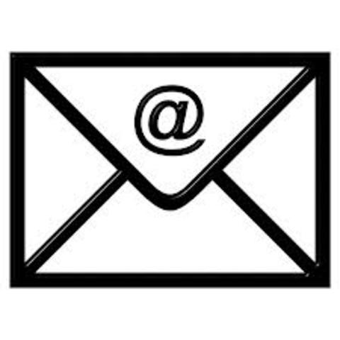 The first e-mail sent