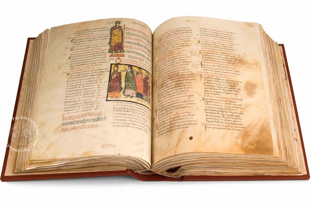 Christians invented codex, a document that is a prototype of a book which uses papyrus pages.