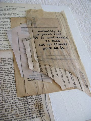 Paper became a form of technology.