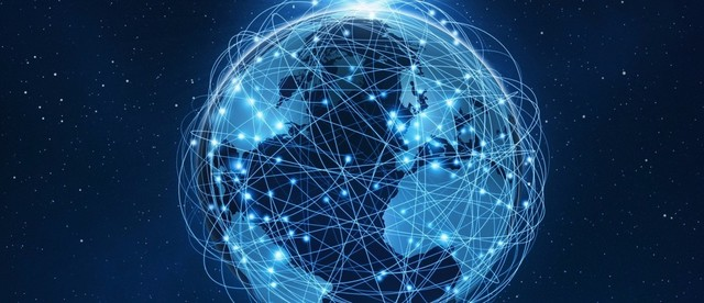Transition from ARPANET to Internet.
