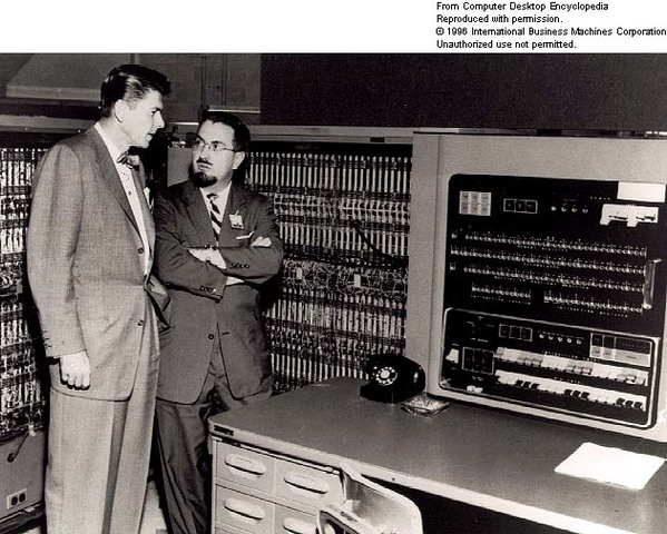 IBM shipped its first electronic computer called IBM 701 and known as 'Defense Calculator'