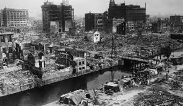 Tokyo Earthquake and Fire