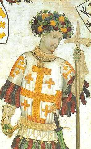 Godfrey of Jerusalem Dies