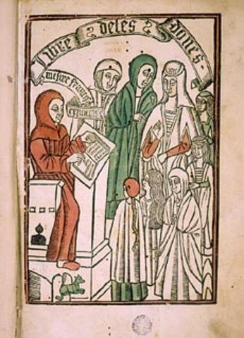 Neix Francesc Eiximenis (1328-1409)