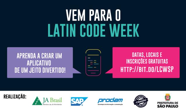 Latin Code Week - Sua Região na Palma da Mão