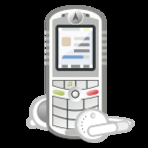 Primer celular con iTunes