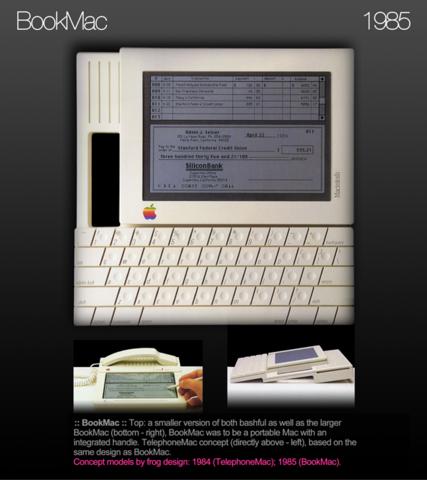Apple BookMac, 1985: