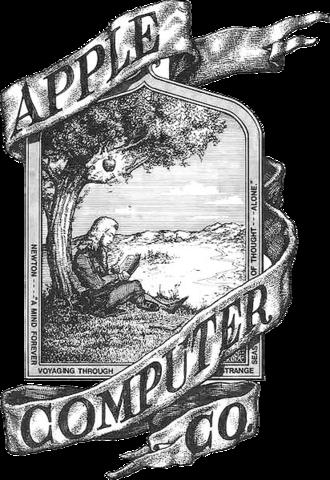 Primer logotipo de apple