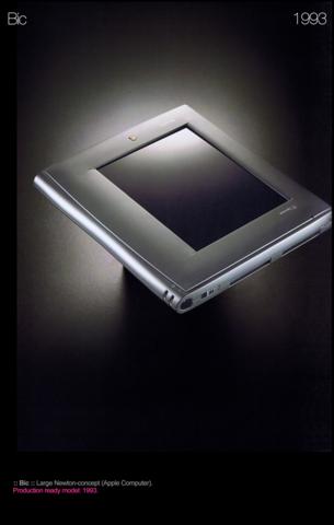 Apple Newton Bic, 1993: