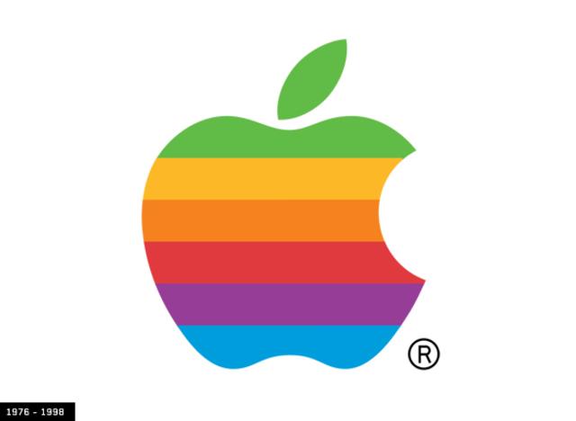 Segundo logotipo de Apple
