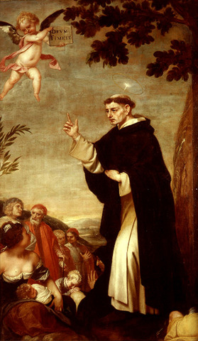 Neix Vicent Ferrer (1350-1419)