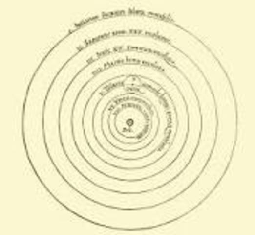 Nicolaus Copernicus reasoned the heliocentric theory.