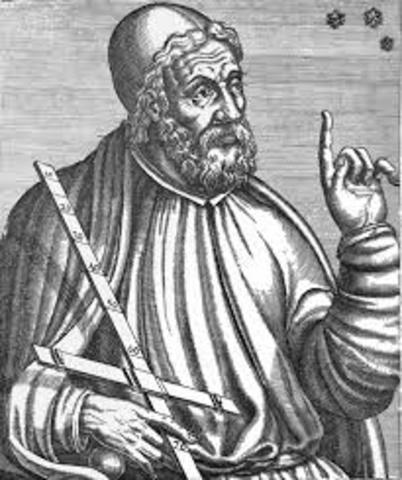Ptolemy supported the geocentric theory.