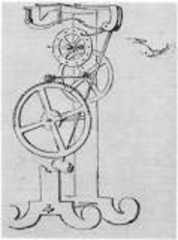 Galileo developed the law of the pendulum.