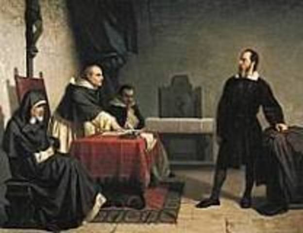 Galileo was put under house arrest by the Inquisition for supporting Copernicus's theory.