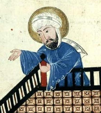 La mort de Mahoma