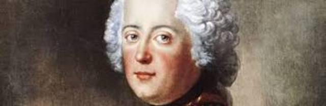 The enlightened despot, Frederick II, began his rule of Prussia.