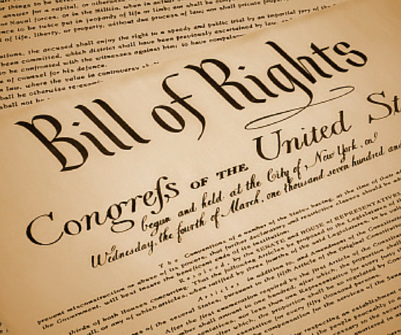 The U.S. Congress added the Bill of Rights.