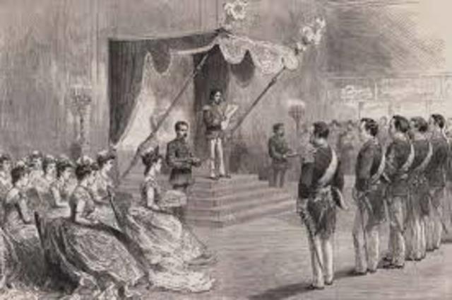 Formal Enthronement of Emperor Meiji