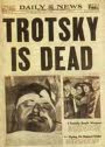 Trotsky is dead.