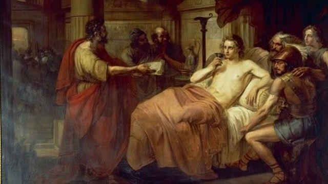 Muere Alejandro magno en babilonia