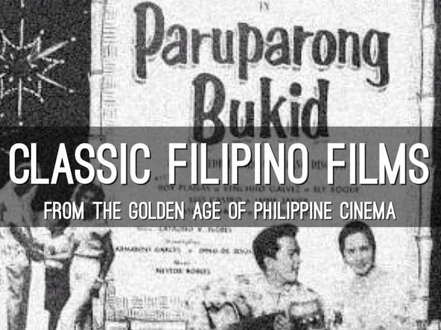 GOLDEN AGE OF PHILIPPINE CINEMA