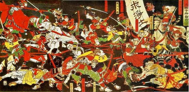 Nobunaga Attacks Ikko believers