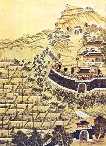 Hideyoshi now moves to Korea