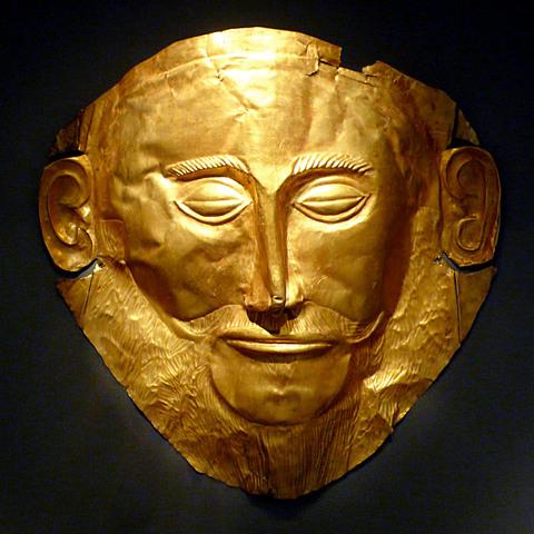 """Mask of Agememmon"""