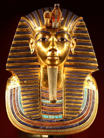 """Tutankhamun's Death Mask"""