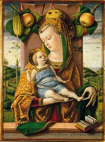 "Carlo Crivelli's ""Madonna with Child"""