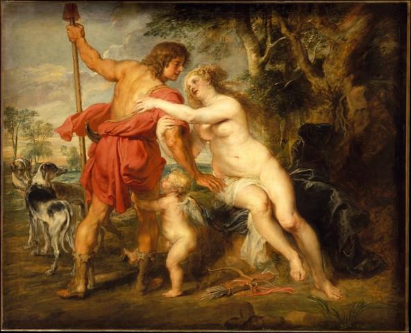 """Venus and Adonis"""