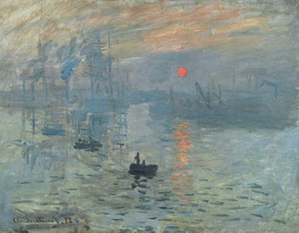 Beginning of Impressionism