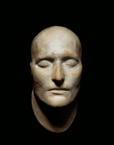 """Napolean Bonaparte's Death Mask"""