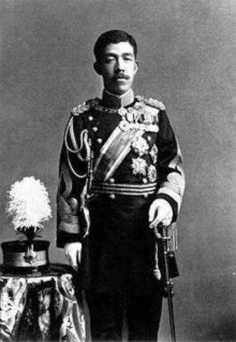 Meiji's son, Prince Yoshishito, is born