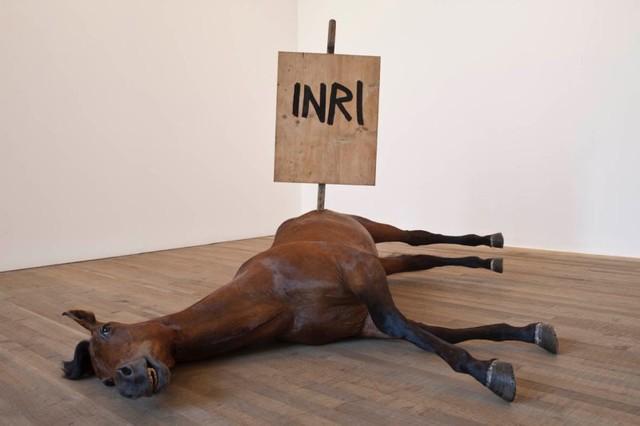 "Maurizio Cattelan's ""Untitled"" 2009"