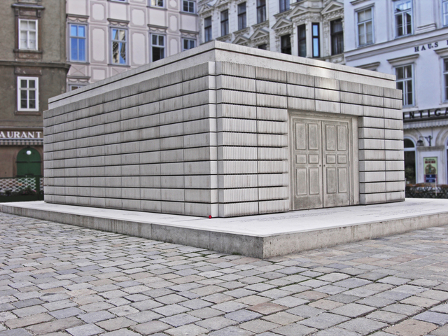 """Judenplatz Holocaust Memorial"""