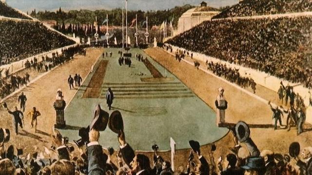 Celebración primeros Juegos Olímpicos
