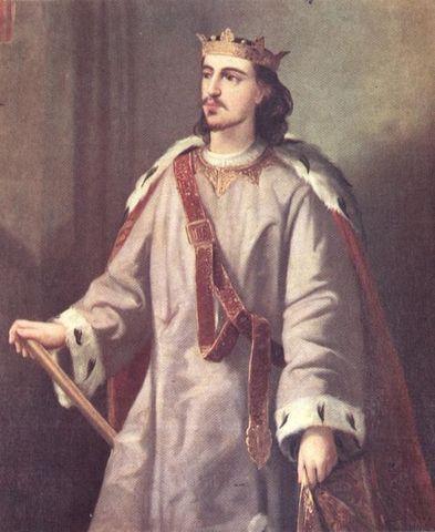 Neix Alfons II el Liberal o Franc