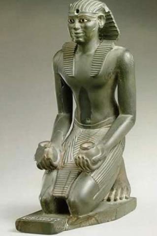 de reactie van farao Pepi op het plunderen van de nomaden