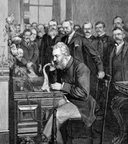 Alexander Graham Bell patents the telephone (cont)