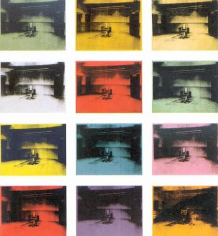 """Andy Warhol's """"Twelve Electric Chairs"""""""