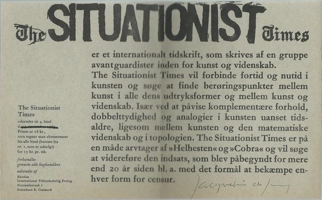The Situationist International