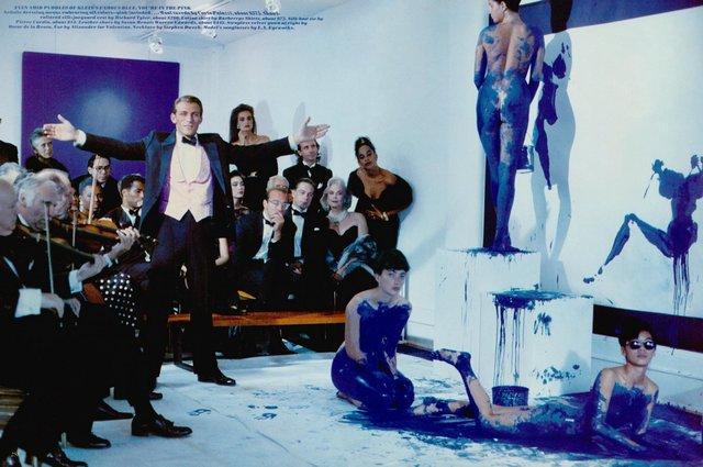 Yves Klein Performance Art