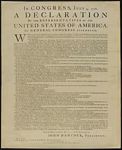 Thomas Jefferson wrote the Declaration of Independence.