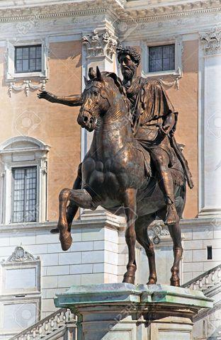 Equestrian Statue of Marcus Aurelius, Rome